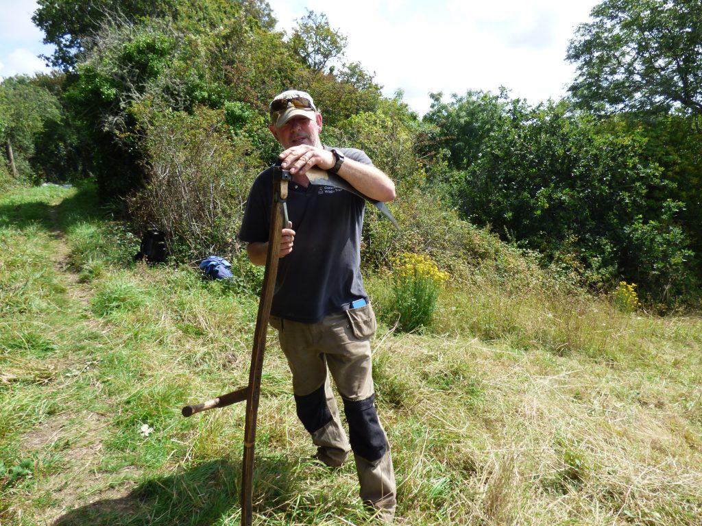 Scythe maintenance lesson from David May