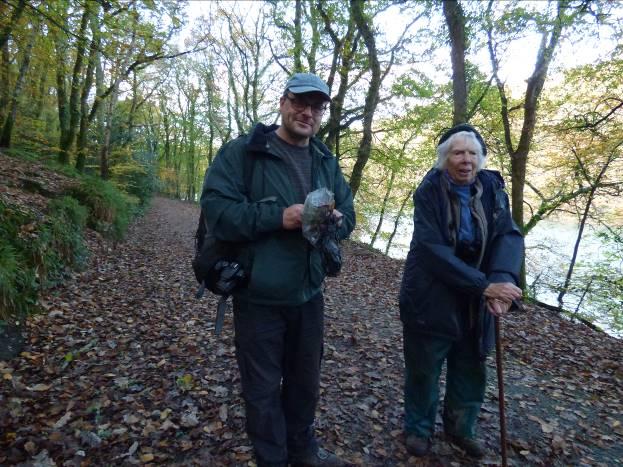 Rogan Jones and Mary Atkinson