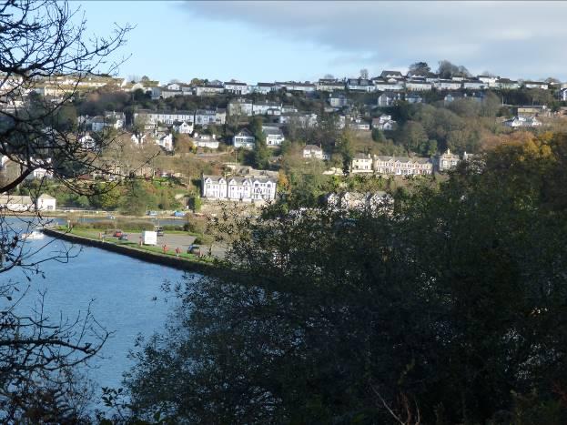 Looe, seen from Millpool