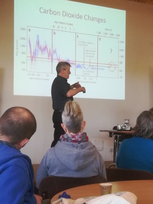 Mark Ward from Somerset Wildlife Trust gives us the stark facts about climate change