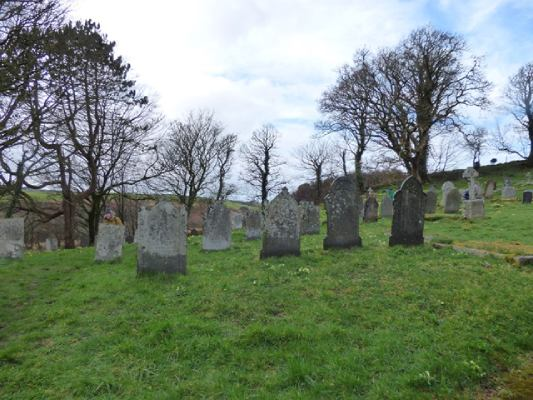 St Clether churchyard
