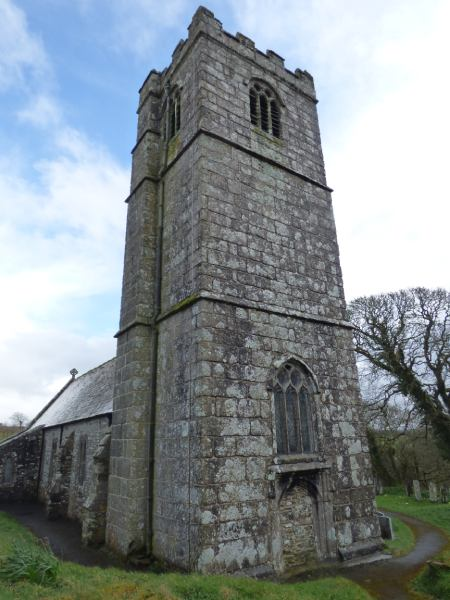 The church at St Clether